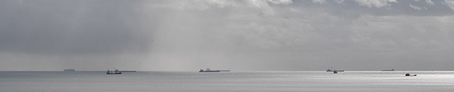 Ships anchored in Torbay