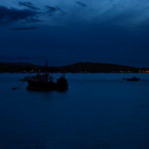 The Exe Estuary at dusk
